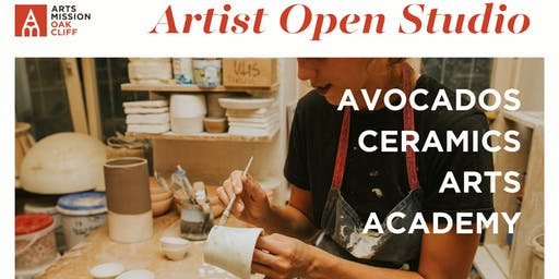Artist Open Studio: Avocados Ceramics Arts Academy