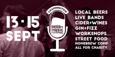Leamington Beer & Music Festival 2019 tickets