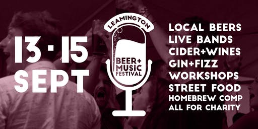 Leamington Beer & Music Festival 2019