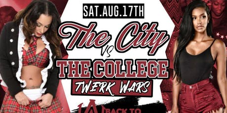 "FREE TICKETS to ""COLLEGE VS CITY"" THIS SATURDAY @ CLUB 47 (AUG 17TH) tickets"
