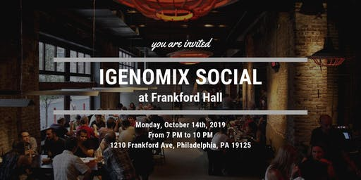 Igenomix Social at Frankford Hall