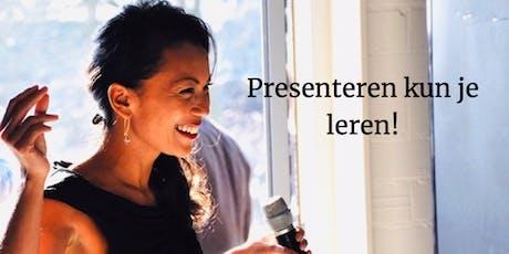"""Workshop """"Presenteren kun je leren"""" Part II tickets"""