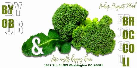 BYOB x Broccoli Bar tickets