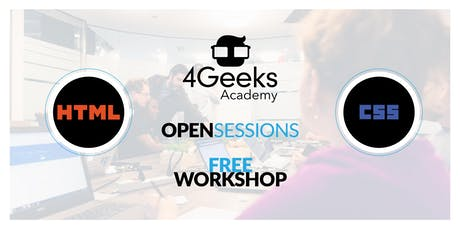 4Geeks Open Session tickets