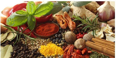 Cooking with therapeutic herbs and spices tickets