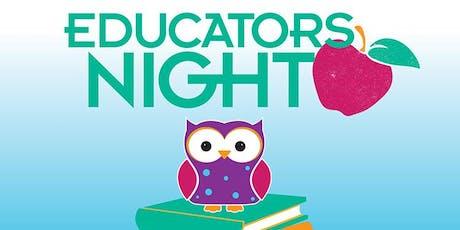PETALUMA - EDUCATOR NIGHT Grades K-3 tickets