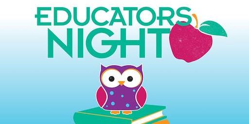 PETALUMA - EDUCATOR NIGHT Grades K-3