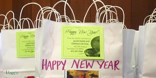 San Mateo Rosh Hashanah Bag Assembly Event