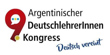 9. Argentinischer DeutschlehrerInnenkongress entradas