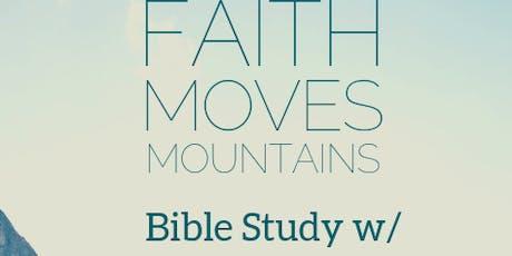 Bible Study w/ Yolonda tickets