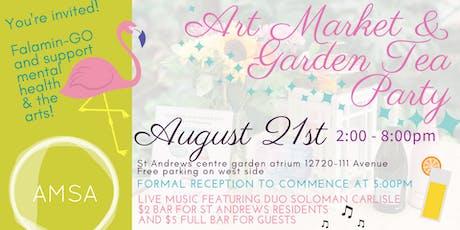 AMSA 2nd Annual: Art Market & Garden Tea Party  tickets