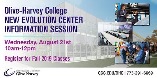 Olive-Harvey College New Evolution Center Information Session
