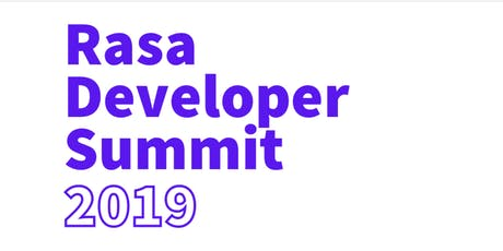 Rasa Developer Summit tickets