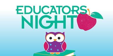 PETALUMA - EDUCATOR NIGHT Grades 7-12 tickets