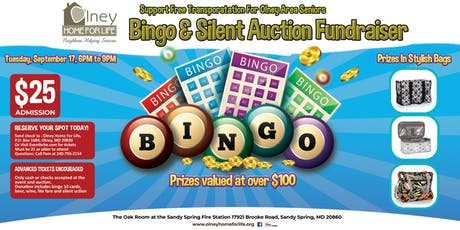 Olney Home For Life Fundraiser: Bingo, Silent Auction, Food Refreshments and More tickets