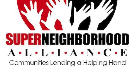 Super Neighborhood Alliance (SNA) Mayoral Candidate Forum tickets