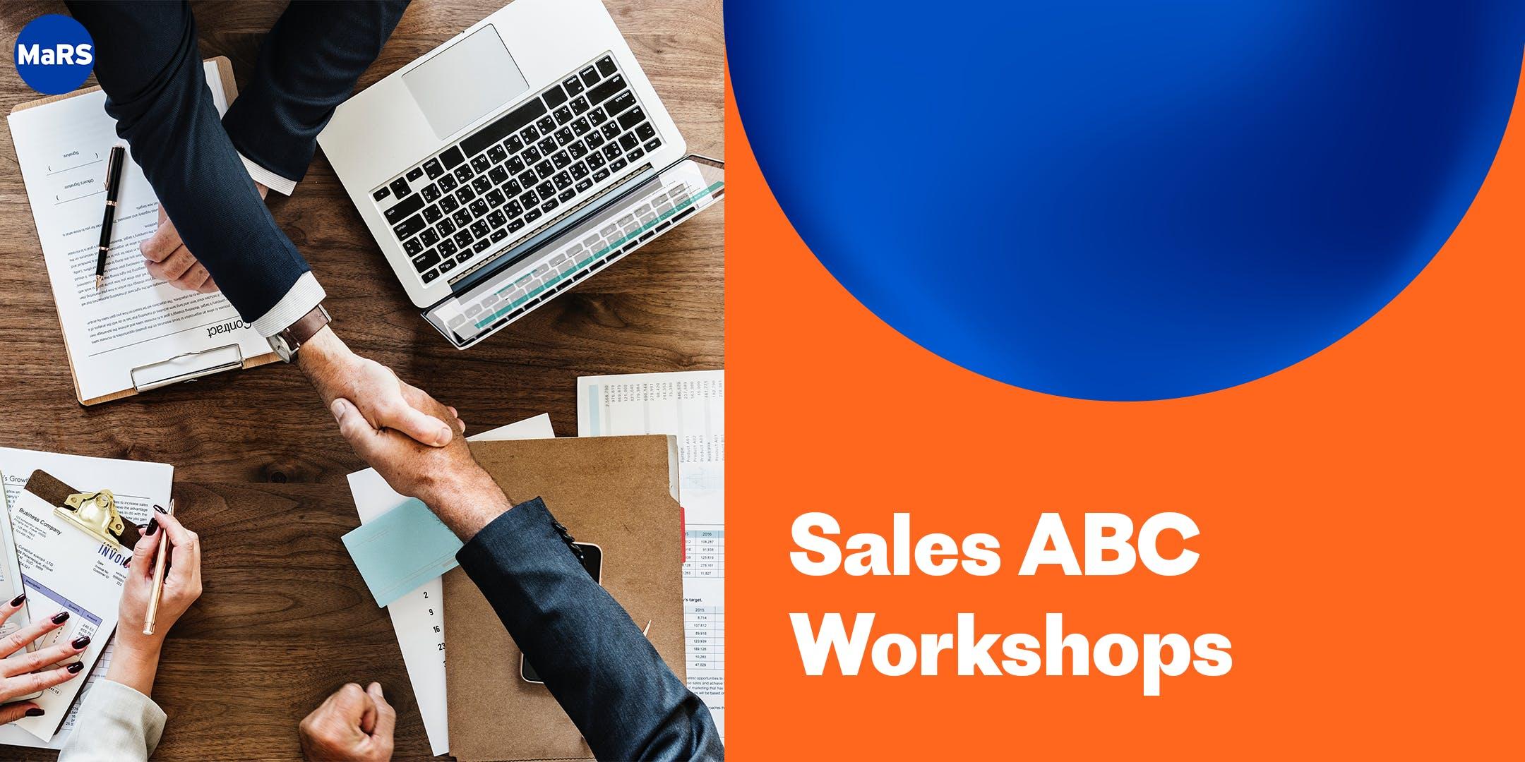 MaRS Sales ABC Workshops  September 10 19 26 (Sep-2019)