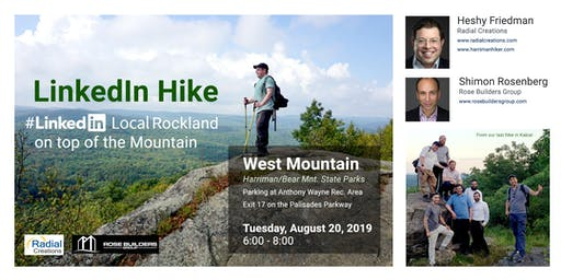 LinkedIn Hike - LinkedIn Local Rockland at West Mountain