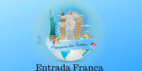 Primavera das Nações ingressos