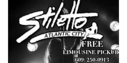 FREE LIMO RIDE & $$$ OFF Stiletto Gentlemen's Club