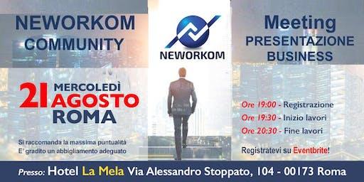 Presentazione NEWORKOM - Roma