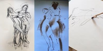 Drawing from LIFE - 2 FEMALE MODELS