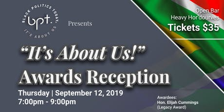 """Black Politics Today""""It's About Us!""""  CBC  Awards Reception tickets"""