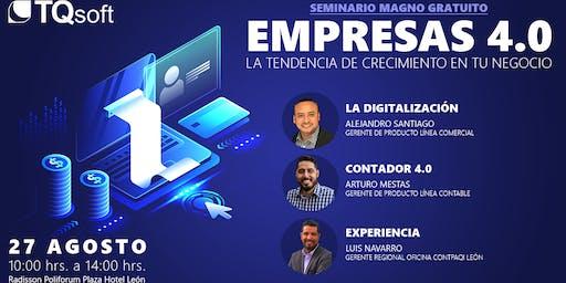 """Seminario Magno Gratuito """"Empresas 4.0"""""""