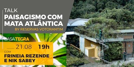 Paisagismo com Mata Atlântica - By Votorantim tickets