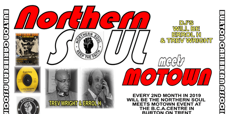Northern Soul Meets Motown tickets