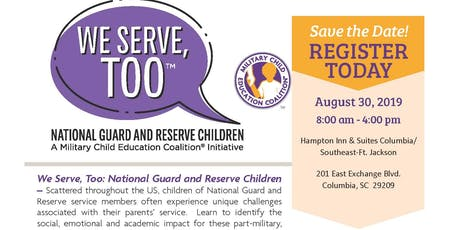 We Serve, TOO National Guard and Reserve Children tickets