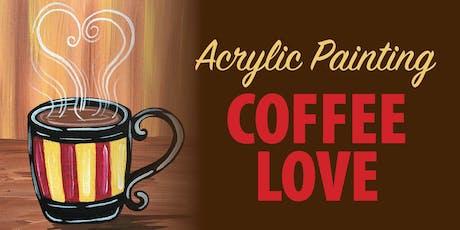 Acrylic Paint Night- Coffee Love tickets