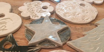 Porcelain Ornaments Workshop: November 22nd 6:30pm