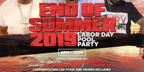 Labor Day Pool Party tickets