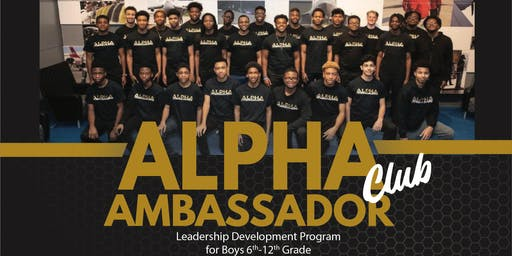 Alpha Ambassadors Program Orientation 2019-2020