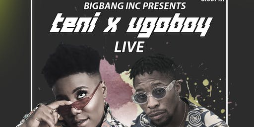 Teni The Entertainer & The UgoBoy LIVE!