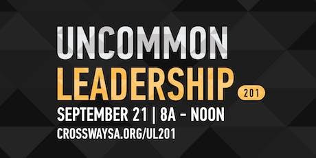 Uncommon Leadership 201 tickets