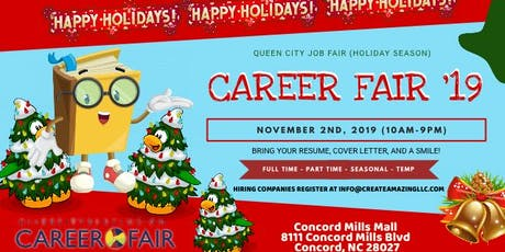 2019 Queen City Job Fair (Holiday Season) tickets