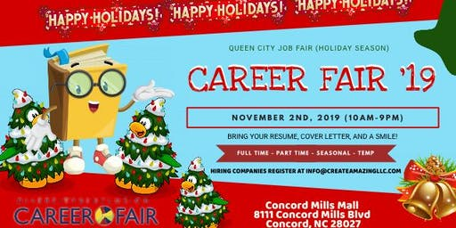 AT&T Fiber Presents: 2019 Queen City Job Fair (Holiday Season)