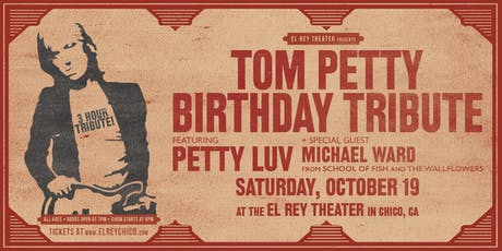 Tom Petty Birthday Tribute ft. Petty Luv & Michael Ward tickets