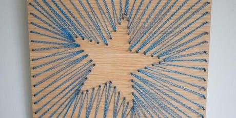 Negative Space String Art Workshop tickets