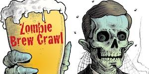 Zombie Brew Crawl in Downtown Martinez
