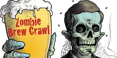 Zombie Brew Crawl in Downtown Martinez tickets