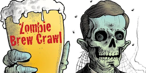 Zombie Brew Crawl in Downtown Martinez