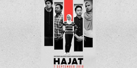 Malam Malaysia 2019: Hajat  tickets