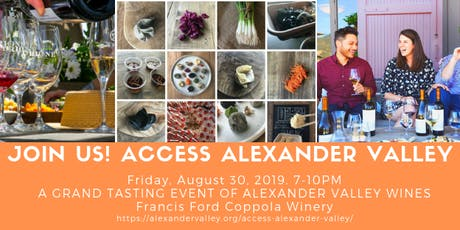 Access Alexander Valley tickets