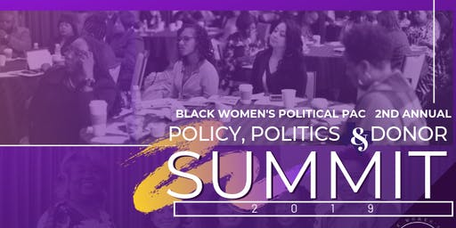 2019 BWPAC 2nd Annual Policy, Politics and Donor Summit