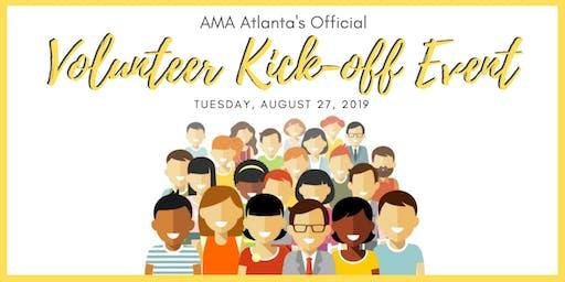 AMA Volunteer Kick Off