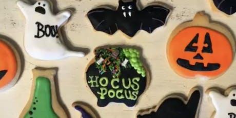 BakeologyDFW Halloween Cookie Decorating Class tickets