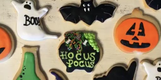 BakeologyDFW Halloween Cookie Decorating Class